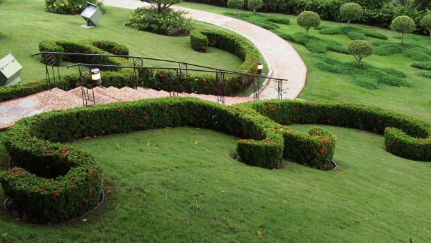 Mantenimiento de jardines de comunidades y particulares en for Jardines particulares